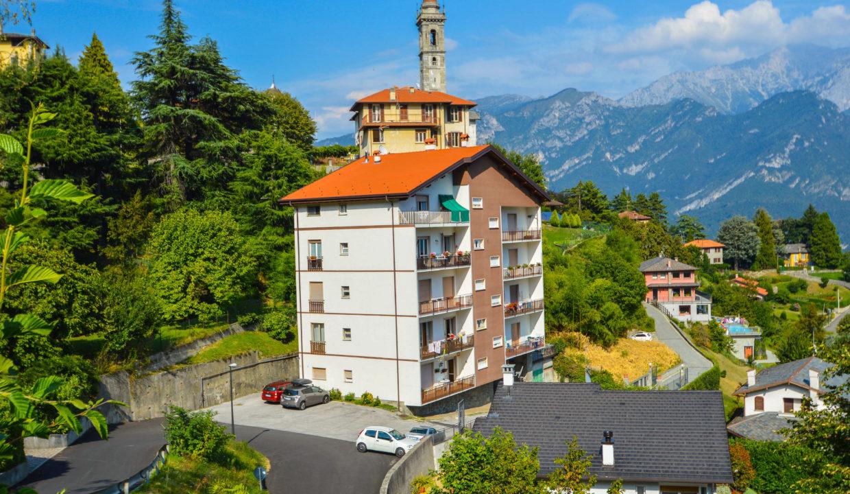 Trilocale con vista lago Bellagio Civenna10