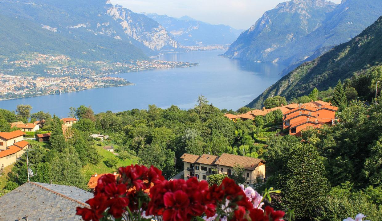 Trilocale con vista lago Bellagio Civenna11