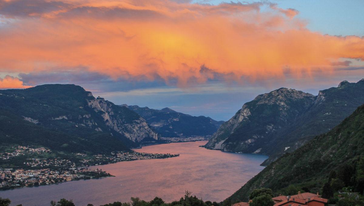 Trilocale con vista lago Bellagio Civenna12