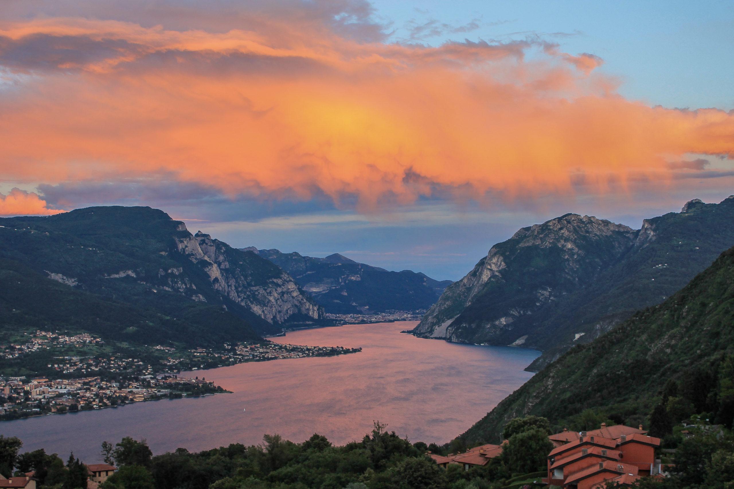 Trilocale vista Lago Bellagio Civenna